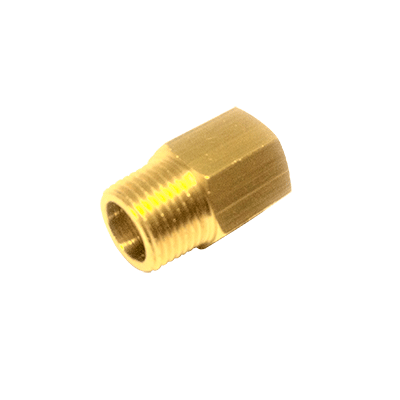"Vetus Thread Adapter M10x1K to 1/4"" - 18 NPTF"