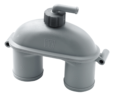 Vetus Anti Syphon Airvent with Valve 38mm