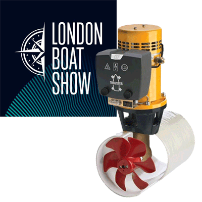 Vetus Bow Thruster 75kgf 4.4kW 6hp 12v Your Price £1,700.10