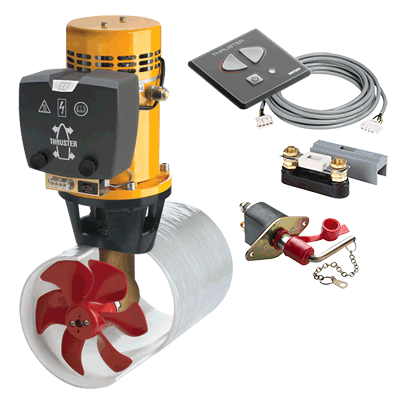 Vetus Bow Thruster 55Kgf 12V Sailboat Bundle