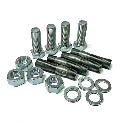 "Set studs & bolts (7/16"" UNF) for couplings type Bullflex"