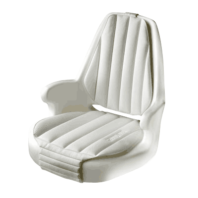 Vetus CAPTAIN Moulded Helm Seat - White