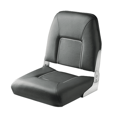 Vetus FIRST MATE Deluxe Folding Seat - Dark Gray