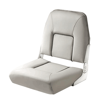 Vetus FIRST MATE Deluxe Folding Seat - light Gray