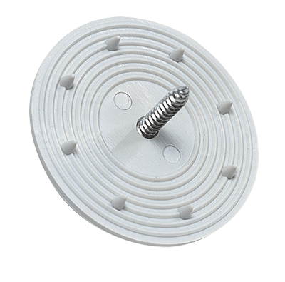 Fixing plate for installation materials (pack of 15 pieces)