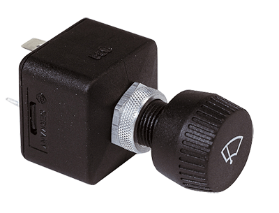 Vetus Three Position Wiper Switch - Rotary