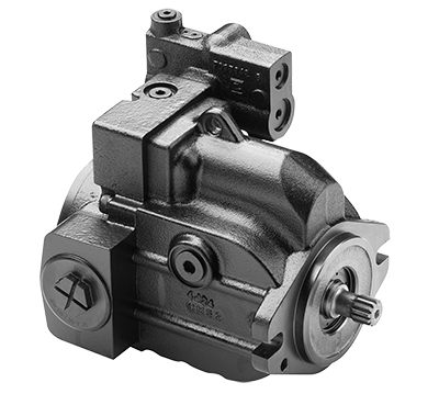 Variably adjustable piston pump 30cc left handed SAE-B flang