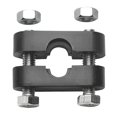Cable clamp for cables type 33 and LF