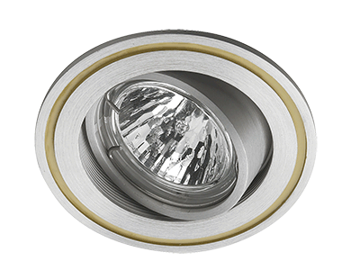 Spotlight PISA recessed eyeball round (excl Bulb MR16)