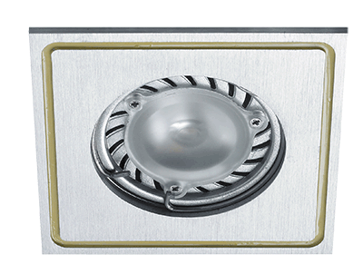 Spotlight PRATO recessed fixed square (excl Bulb MR16)