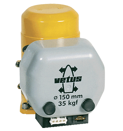 Motor and Solenoid for Vetus BOW23 & 35 12v