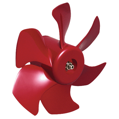 Vetus Bow Thruster Propeller 6 blade Ø150mm for 35/55kgf