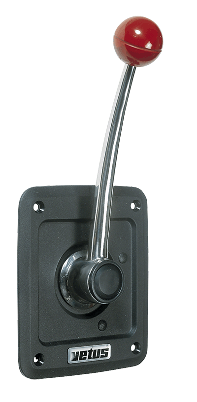 Vetus SICO Single Lever Side Mount Control - Plastic Fascia