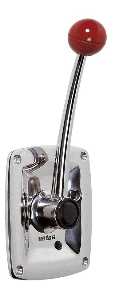 Single Lever Control Cable : Vetus shop sisco single lever side mount
