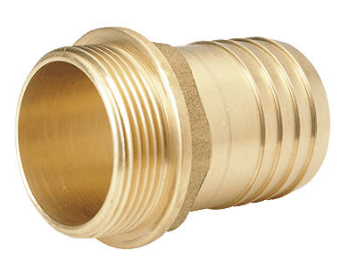 Brass hose pillar G 3/8  - 10 mm
