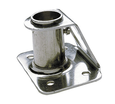 Stanchion socket straight