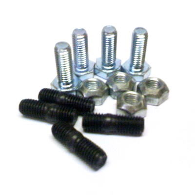 Set studs & bolts (M10) for couplings type Uniflex &
