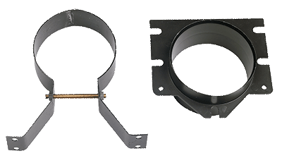 In line connection kit with bracket for VENT76
