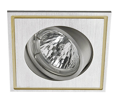 Spotlight VINCI recessed eyeball square (excl Bulb MR16)