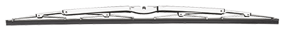 Vetus Wiper Blade Stainless Polished 660mm