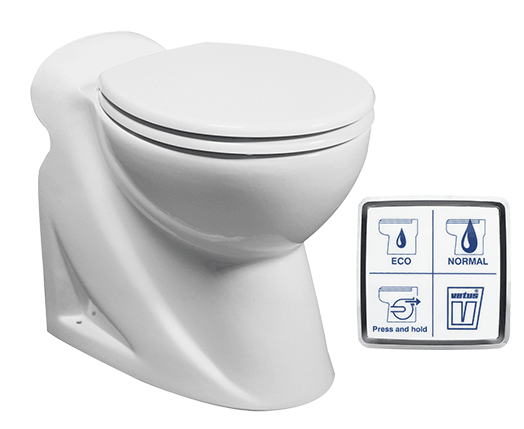 Vetus Electric Toilet WCL2 12V
