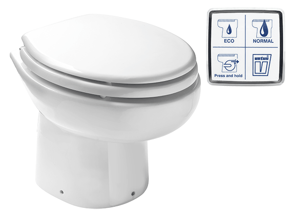 Vetus Electric Toilet WCP 12V