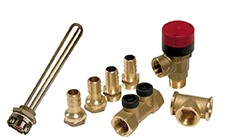 Calorifier fitting kit