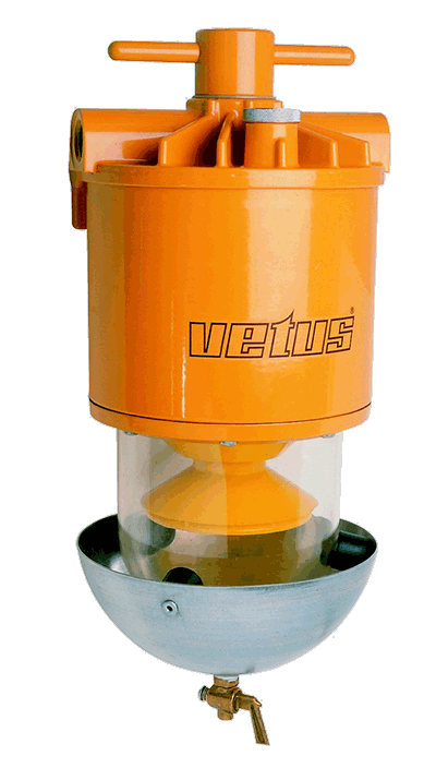 Water separator/filter type WS750 (cap 750 l/h)